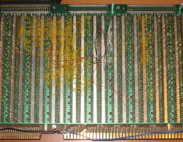 Самодельный компьютер с самодельным процессором