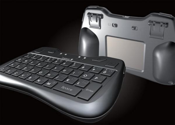 Thumb Keyboard – беспроводная мини-клавиатура с тачпадом