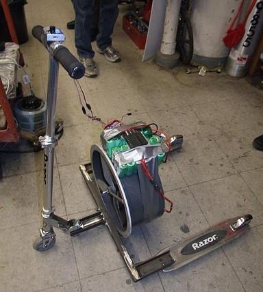 Fanscooter – медленный, неэффективный, но прикольный!