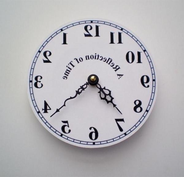 Часы не для всех Reflection of Time Clock