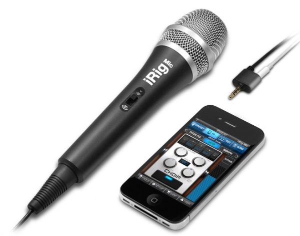 IK Multimedia iRig Mic – микрофон для iPhone, iPod и iPad