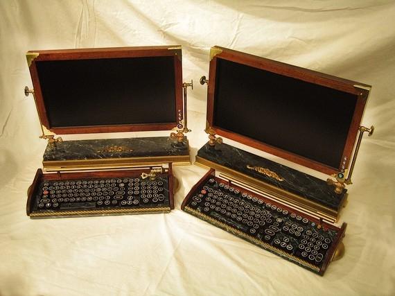Стимпанковый компьютер для любителей ретро