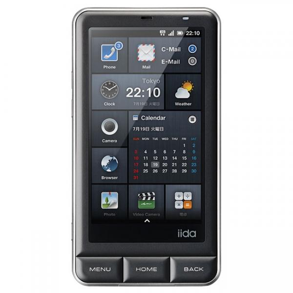 Оригинальный Android-смартфон KDDI Infobar A01