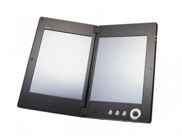 Двухэкранный планшет NEC LifeTouch W выйдет в июне
