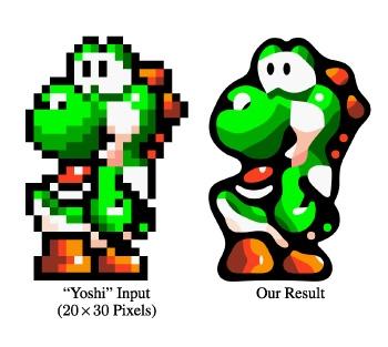Депикселизация 8-битных компьютерных игр