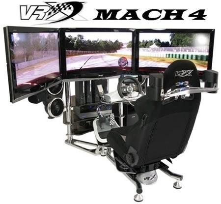 VRX MACH 4 – самый лучший гоночный симулятор
