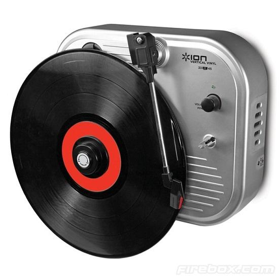 Вертикальный проигрыватель для пластинок – Vertical Vinyl Player
