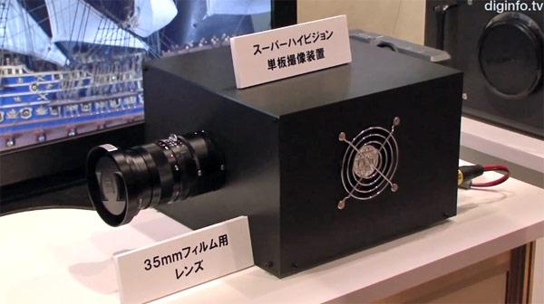 NHK разработала телекамеру с 33-мегапиксельным сенсором