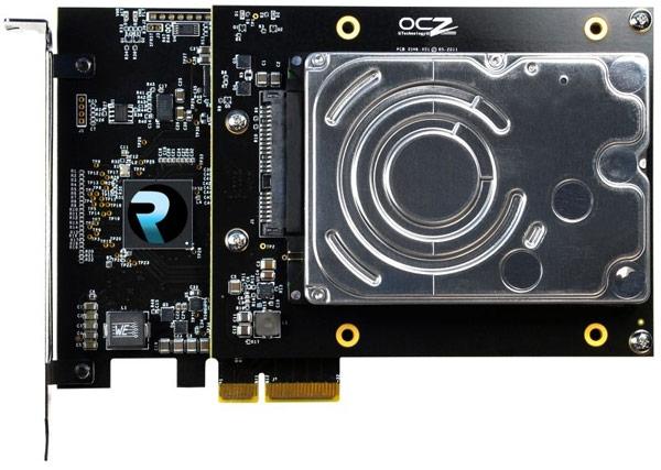 Гибридный накопитель RevoDrive: HDD и SSD на плате PCIe