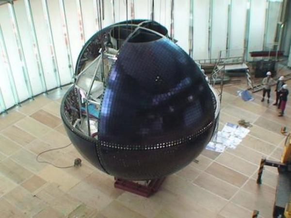 Mitsubishi создала большой «10-мегапиксельный OLED-глобус»