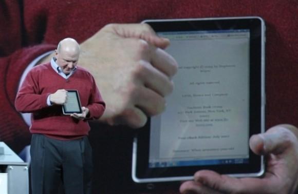 Microsoft выпустит собственный планшет с Windows 8?
