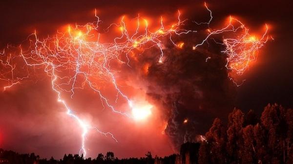 Конец света? Нет, просто извержение чилийского вулкана