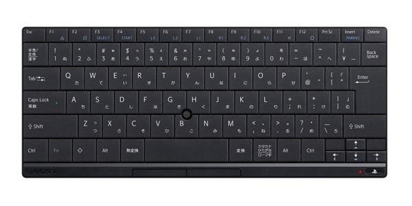 Sony представляет «официальную» Bluetooth-клавиатуру для PS3