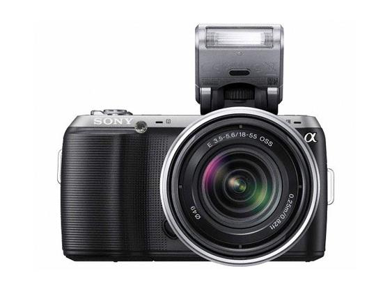 Sony NEX-C3 – самый маленький и легкий фотоаппарат со сменной оптикой