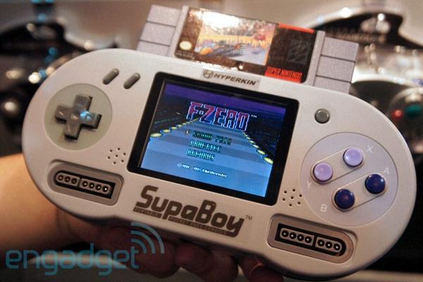 Hyperkin SupaBoy: портативная консоль для картриджей от SNES