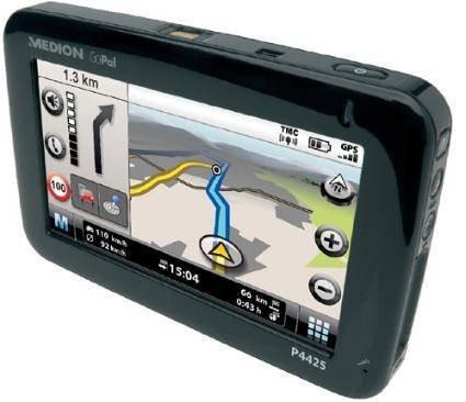 GPS-приемник с датчиком отпечатков пальцев от Medion