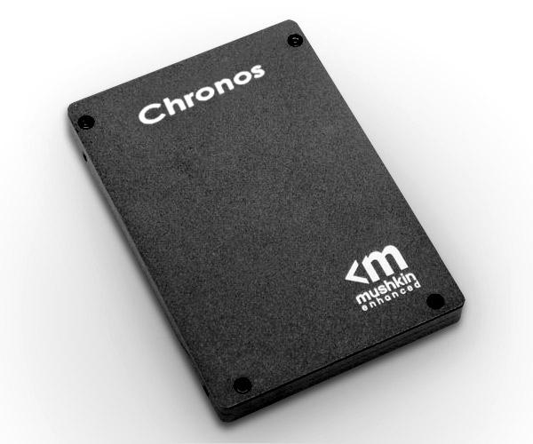 Mushkin выпустит SSD Chronos с контроллером SF-2281