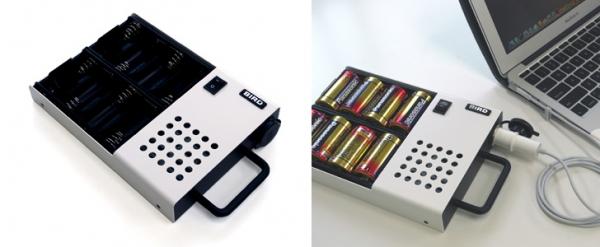Зарядное устройство на батарейках для MacBook Air