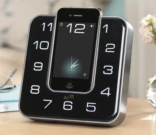 iLive Clock Radio – док-станция в виде часов для iPhone