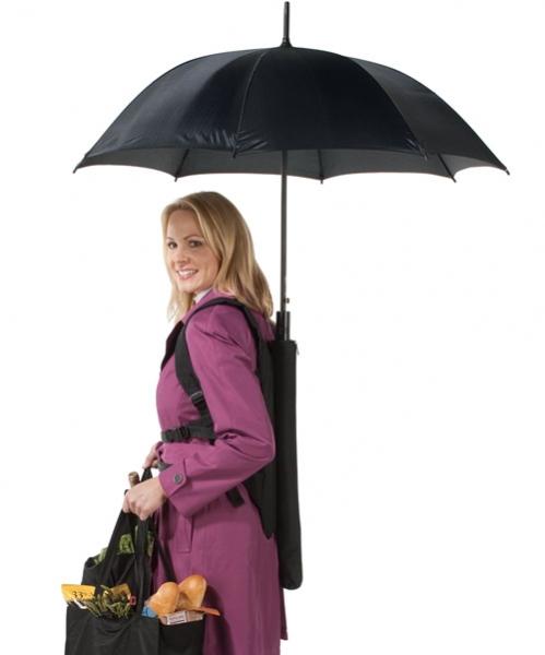 Зонтик в рюкзаке – Backpack Umbrella