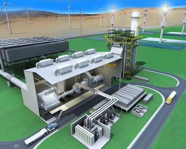 GE анонсирует создание гибридной электростанции будущего