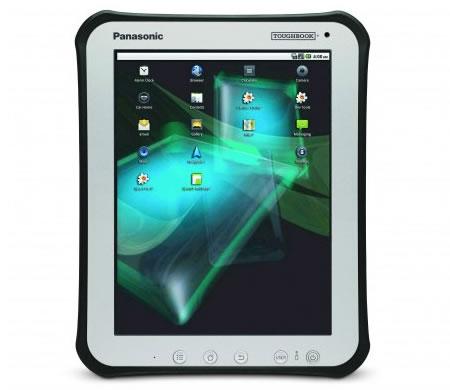 Прочный Android-планшет Panasonic Toughbook