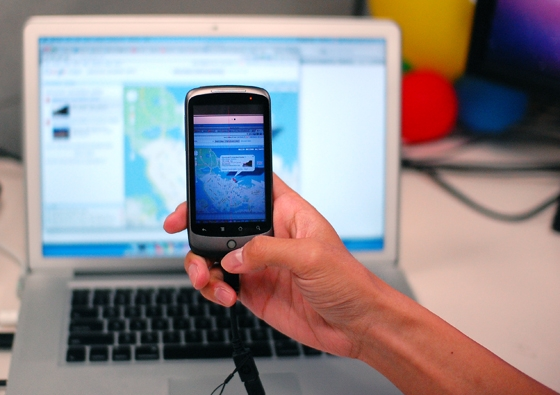 Как скачивать с смартфона на ноутбук