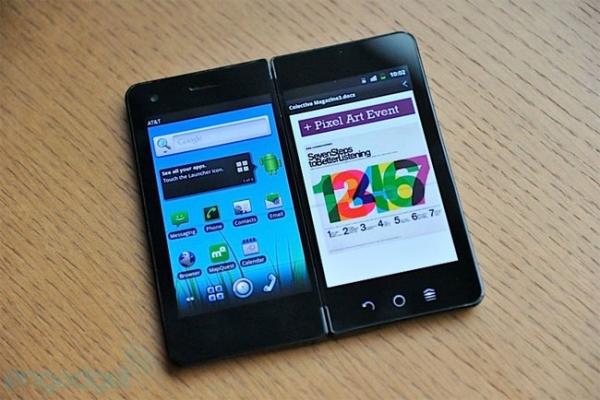 Новый прототип двухэкранного смартфона