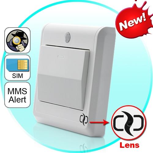 Дистанционно управляемая шпионская HD-камера в выключателе