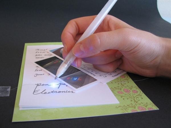 Ручка с серебряными чернилами: рисуй рабочие электрические схемы на бумаге