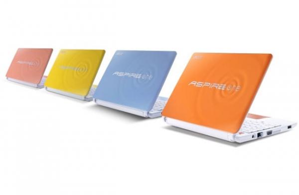 «Счастливые» нетбуки Acer Aspire One Happy 2