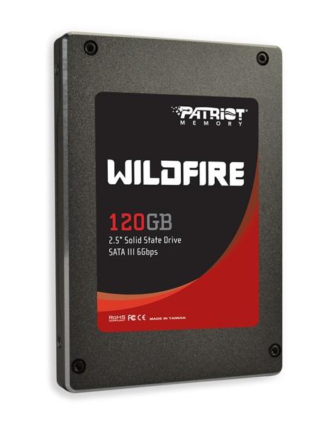 Patriot начала отгрузки SSD Wildfire на базе SandForce SF-2200
