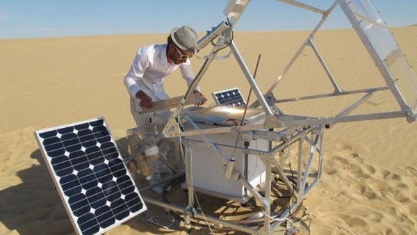 3D принтер, работающий на энергии солнца и «печатающий» песком