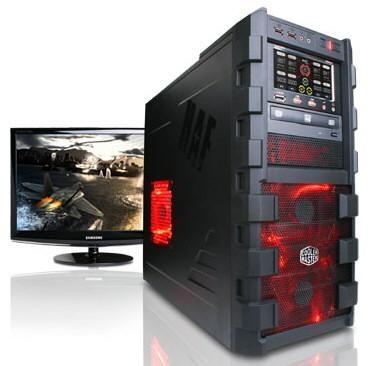 CyberPower представляет производительные ПК на основе AMD Llano