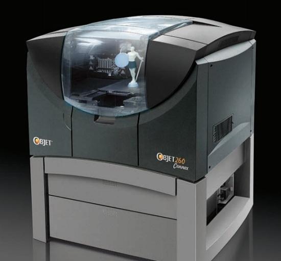 Objet260 Connex – относительно компактный и «доступный» 3D-принтер