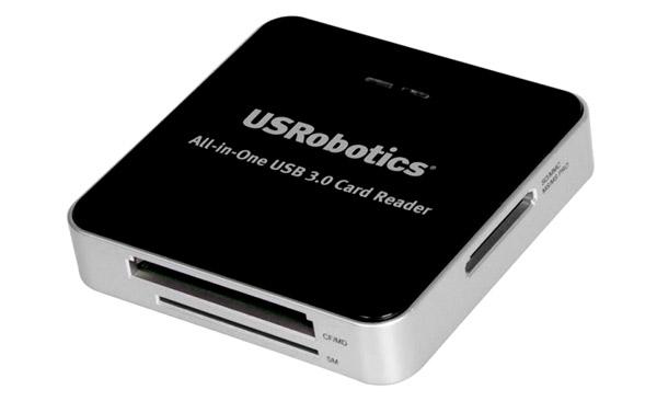 USRobotics представляет USB 3.0-кардридер с пятью слотами