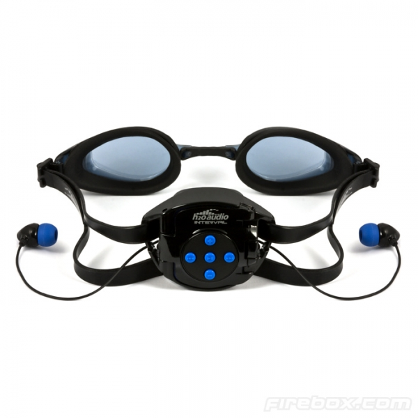 Подводные очки для меломанов H2O Interval Swim System