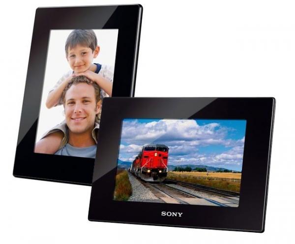 Новые фоторамки S-Frame от Sony