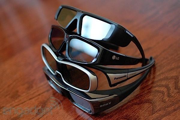 Panasonic, Sony, Samsung и XpanD создадут 3D-очки единого стандарта
