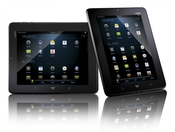 Vizio начала продажи 8'' Android-планшета за 299 $