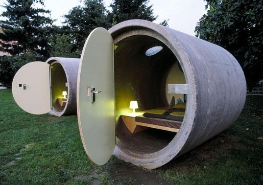 Отель Kooky Desparkhotel — для любителей тесноты и оригинальности