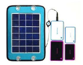 Солнечное зарядное для мобильных устройств