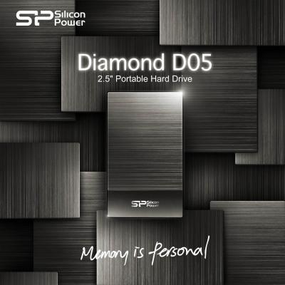 Silicon Power представила портативный накопитель Diamond D05 с USB 3.0
