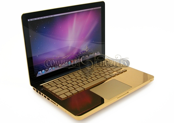 Золотой MacBook Pro: «потому что алюминий – для бедных»