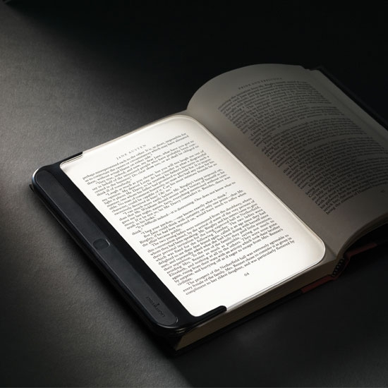 LightWedge – подсветка для книг