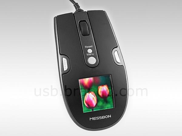 Компьютерная мышь с фоторамкой
