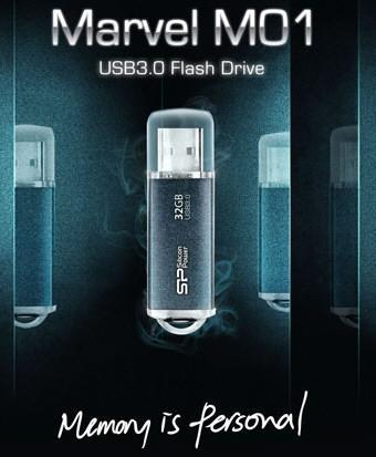 Silicon Power представляет USB 3.0-флешку Marvel M01