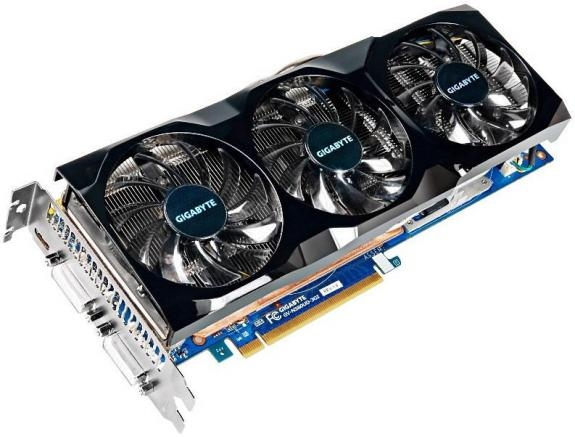 Gigabyte готовит GeForce GTX 580 с 3 ГБ видеопамяти