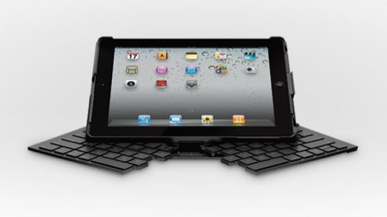 Раскладная клавиатура для iPad 2 от Logitech