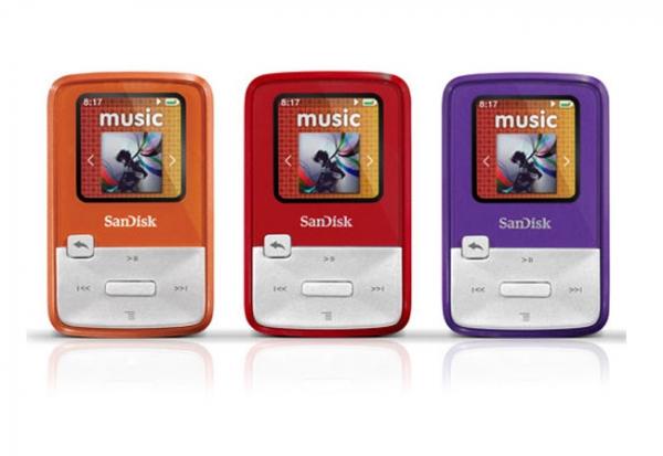Портативный MP3-плеер SanDisk Sansa Clip Zip